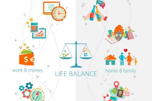 life balance diagram