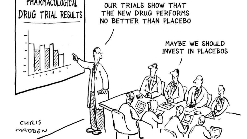 placebo cartoon